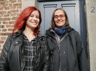 Patricia Fröschen und Sabine Blazy